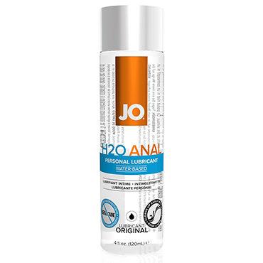 System JO Anal H2O, 120 мл Анальный лубрикант на водной основе нейтральный любрикант на водной основе jo personal lubricant h2o 120 мл