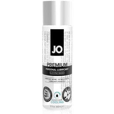System JO Premium Cooling, 60 мл Охлаждающий лубрикант на силиконовой основе нейтральный лубрикант на силиконовой основе jo personal premium 120 мл