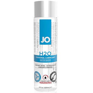 JO H2O Warming, 120 мл Возбуждающий лубрикант на водной основе bioritm intim bluz 50 мл анальная смазка на водной основе