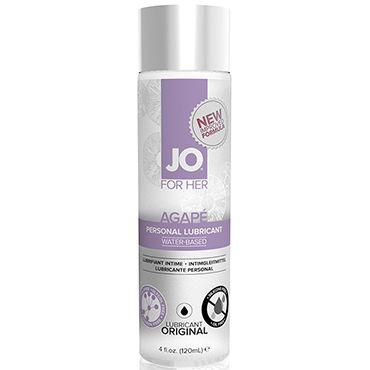 System JO Agape Women, 120мл Женский лубрикант для очень чувствительной кожи анальные пробки 2 шт розовый