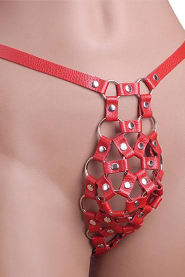 Sitabella трусы, красные С металлической фурнитурой