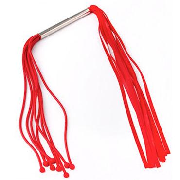Sitabella плеть, красная Двухсторонняя, из латекса sitabella комета розовая плеть с кожаными хвостами