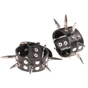 Sitabella наручники С длинными шипами eroflame razzle dazzle diamond черные металлические наручники со стразами