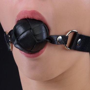 Sitabella кляп, черный С металлической фурнитурой