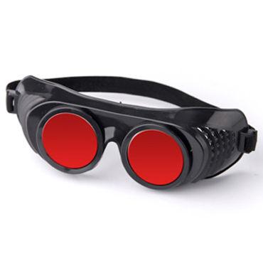 Sitabella Крюгер, черно-красный Очки с зеркальными линзами sitabella маска красный украшенная сердечками