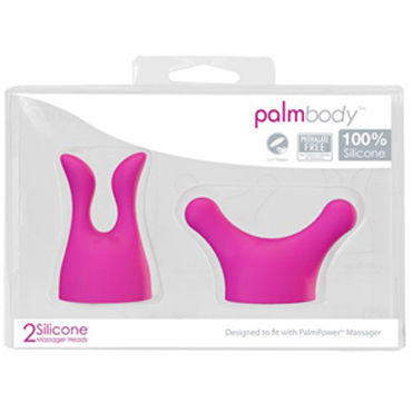 BMS Factory Palm Power Massager Набор силиконовых насадок toy joy manpower plug