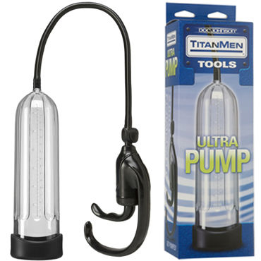 Doc Johnson Titanmen Tools Ultra Pump Вакуумная помпа для полового члена fun factory b balls черный анальные шарики с динамическим центром тяжести