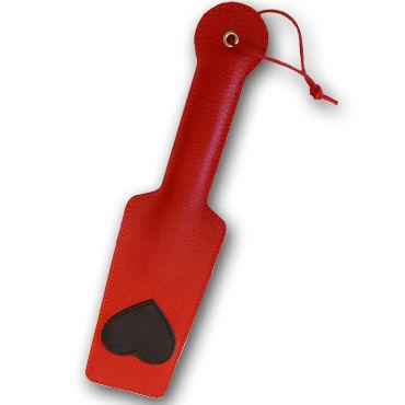 Sitabella хлопалка, красная С черным сердечком orion sex restraints мягкие наручники с ошейником