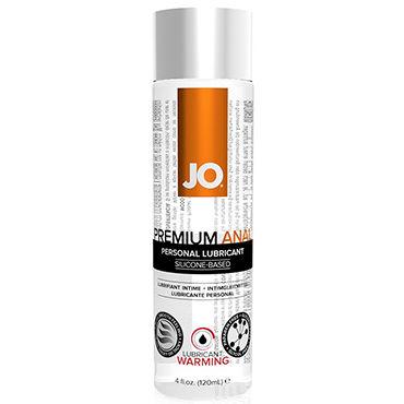 System JO Anal Premium Warming, 120 мл Анальный согревающий лубрикант анальный охлаждающий лубрикант jo с обезболиванием anal h2o cool 120 мл