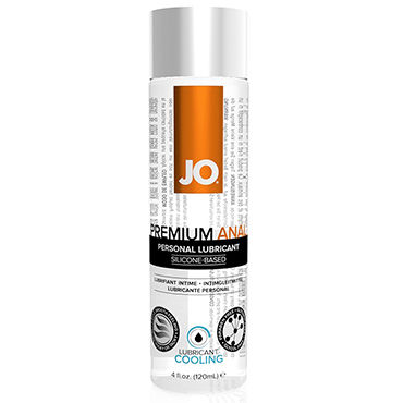 System JO Anal Premium Cooling, 120 мл Анальный охлаждающий лубрикант system jo clitoral gel chill 10 мл стимулирующий гель для клитора мягкого действия