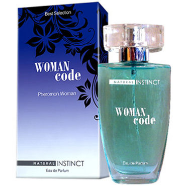 Natural Instinct Woman Code, 50 мл Духи с феромонами
