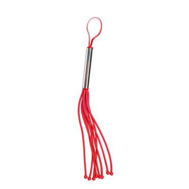 Sitabella Плеть Мини красный С шариками на конце хвостов viamax organic glide 70 vk 8