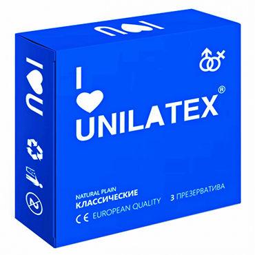 Unilatex Natural Plain Презервативы классические toyfa a toys vacuum pump черная вакуумная помпа мощная с манометром