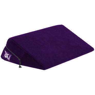 Liberator Wedge, фиолетовая Подушка для секса liberator axis бордовая подушка для секса с креплением для hitachi magic wand