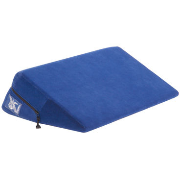 Liberator Wedge, синяя Подушка для секса liberator wedge ramp combo фиолетовы набор подушек для любви