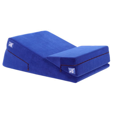 Liberator Combo, синий Набор подушек для секса liberator wedge ramp combo фиолетовы набор подушек для любви