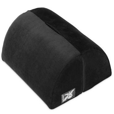 Liberator Bonbon Toy Mount, черная Подушка с кармашком для вибратора черная бабочка стиль кожа pu откидная крышка бумажника карты держатель чехол для lg k7
