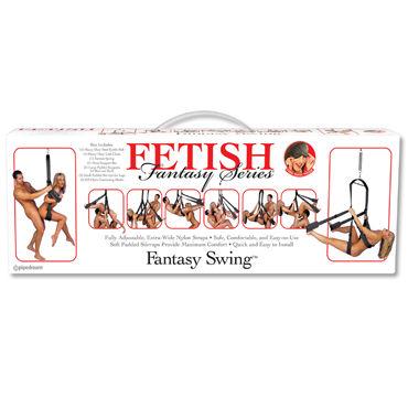 Pipedream Fantasy Swing черный Качели для эротических игр pipedream fantasy swing черный качели для эротических игр