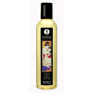 Shunga Passion, 250 мл Массажное масло, яблоко pipedream deluxe cat o nine многохвостая плеть