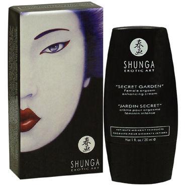 Shunga Secret Garden, 30 мл Стимулирующий крем для женщин bad kitty feather черное перышко с длинной ручкой