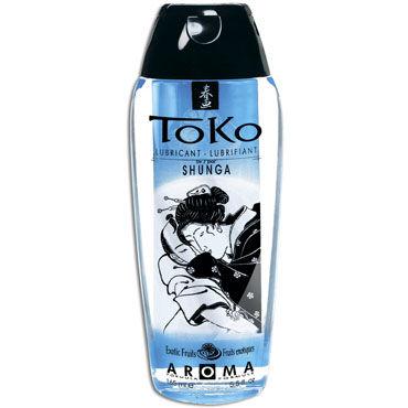 Shunga Toko Aroma, 165 мл Лубрикант с нежным вкусом, экзотические фрукты лубрикант на водной основе shunga toko aqva 165 мл