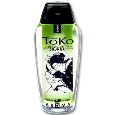 Shunga Toko Aroma, 165 мл Лубрикант с нежным вкусом, дыня и манго лубрикант на водной основе shunga toko aqva 165 мл