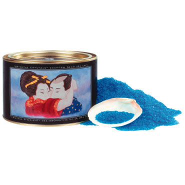 Shunga Oriental Crystals, 600 г. Соль для ванны, океанский бриз ресницы blue silver crystals