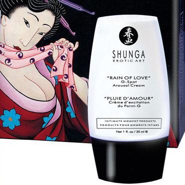 Shunga Rain of Love, 30 мл Возбуждающий крем для точки G shunga carnal pleasures подарочный набор плотские удовольствия из 5 предметов