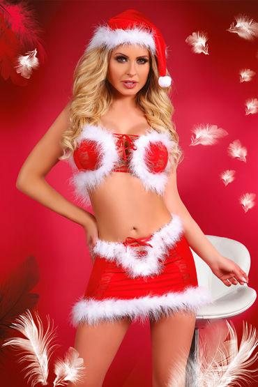 Livia Corsetti Christmas Lust Новогодний комплект топ, юбка и колпак h livia corsetti chantelle