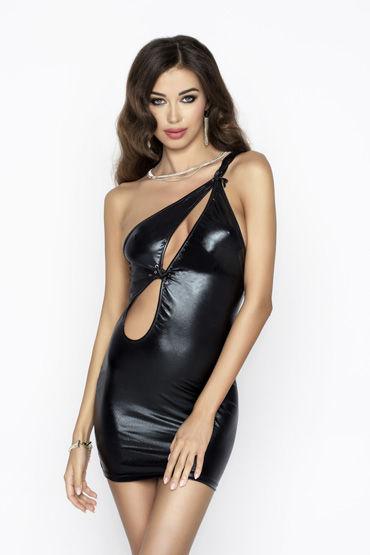 Passion Cornelia, черное Платье с вырезами силикон g spot вибратор перезаряжаемые 10 скорости вибрации массажеры 360566