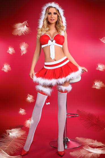 цена Livia Corsetti Little Miss Christmas, красный Сексуальный новогодний комплект онлайн в 2017 году