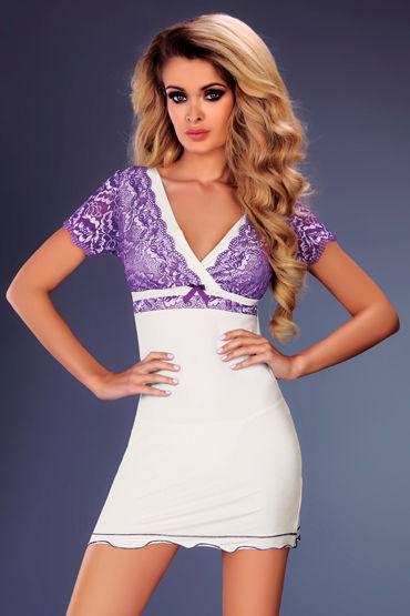 Livia Corsetti Trudy Сорочка и трусики livia corsetti reve blanc белый пеньюар сорочка и трусики