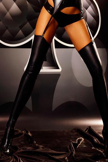 Lolitta Warm Up, черные Эластичные глянцевые чулки женская мода сексуальное масло блестящие глянцевые чулки женское открытое колготки колготки bodystockings lingerie для lady