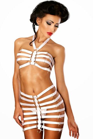Lolitta Amazing, белый Комплект из бюстгальтера и юбочки lolitta sensual черно красный f1