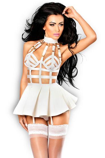 Lolitta Marvelous, белое Платье с открытой спинкой x lolitta sensual черно красный