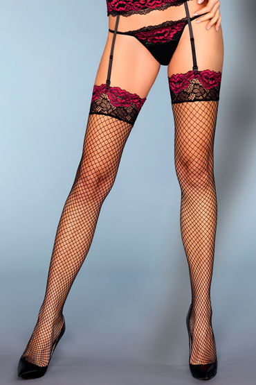 LivCo Corsetti Perry, черные Чулки в сеточку с ярким кружевом livia corsetti catriona черный топ и чулочки