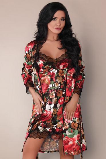 Livia Corsetti Mariee, разноцветный Пеньюар, сорочка и трусики vizit презервативы hi tech comfort оригинальной формы 12 шт