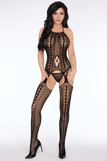Livia Corsetti Kavita, черный Боди-комбинезон без рукав чулок на тело livia corsetti hassiba черный s l