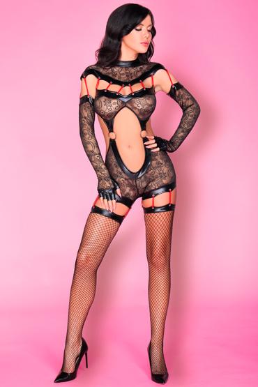 LivCo Corsetti Sakura, черный Дерзкий боди-комбинезон livco corsetti serminsa черный боди комбинезон с разрезами сзади