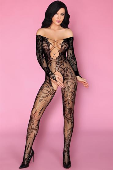 LivCo Corsetti Olamiden, черный Боди-комбинезон с рисунком livco corsetti serminsa черный боди комбинезон с разрезами сзади