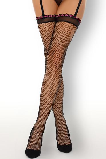 LivCo Corsetti Chinedu, черные Сетчатые чулки с вышивкой чулки temptlife полосатые новогодние