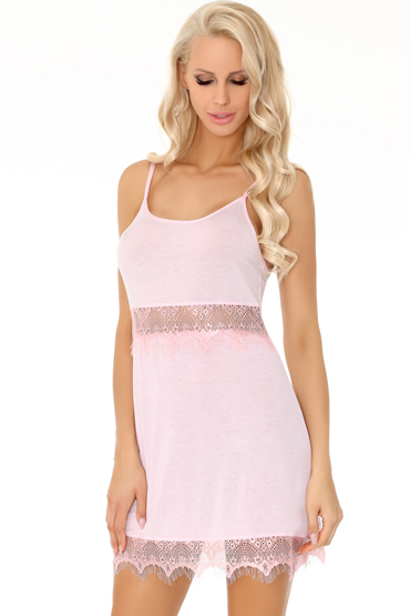 LivCo Corsetti Nimatana, розовая Элегантная сорочка и трусики