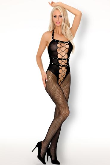 LivCo Corsetti Sacnite, черный Боди-комбинезон с декором livco corsetti serminsa черный боди комбинезон с разрезами сзади