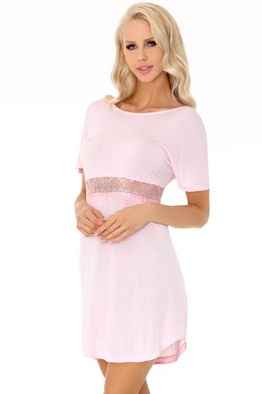 LivCo Corsetti Elpisa, розовая Нежная сорочка и трусики