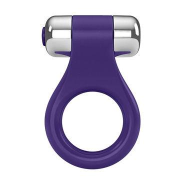 Ovo B1  Эрекционное кольцо, фиолетовое С виброэлементом ovo k1 розовый вибратор с клиторальным стимулятором