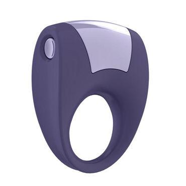 Ovo B8 Эрекционное кольцо, фиолетовый С виброэлементом, стимулирующее клитор виброяйцо ovo r6 remote на дистанционном управлении белое