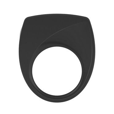 Ovo B6  Эрекционное кольцо, черное С виброэлементом а духи с феромонами для мужчин аромат – амбра