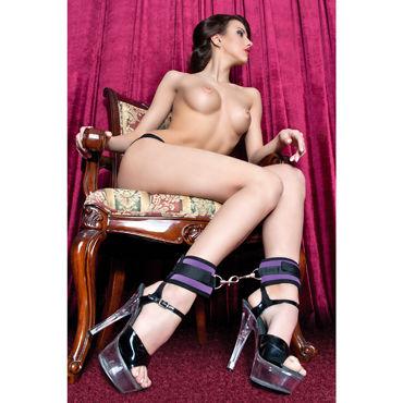 ToyFa Theatre Оковы, фиолетовый Из неопрена оковы на ноги toyfa theatre из неопрена фиолетовые