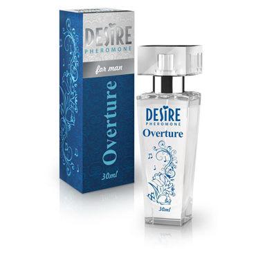 Desire De Luxe Platinum Overture, 30мл Мужские духи с феромонами desire de luxe platinum sonata 30мл женские духи с феромонами