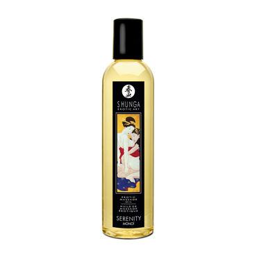 Shunga Sereniti Monoi, 250мл Массажное масло, моной продлевающие смазки bioritm гармония